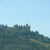 One of many interesting views, <br /> This one with a castle on the way up to Gruyères from Montreaux.