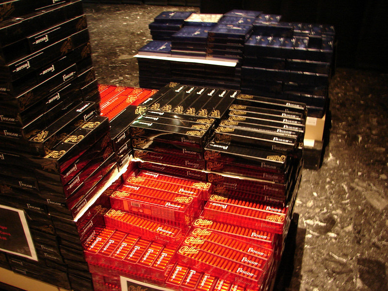 Fresh chocolate available for purchase during the visit at Callier