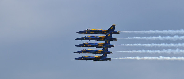 Blue Angels perform at the Wings Over Homestead Air Show