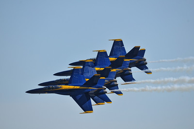 Blue Angels perform at the Wings Over Homestead Air Show.
