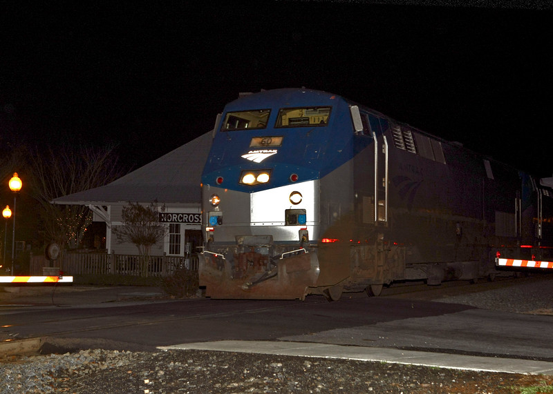 Amtrak Crescent #60 at Norcross Station