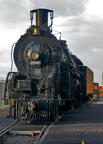 4 8 4 Steam Locomotive Santa Fe 3768 at Wichita Train Museum