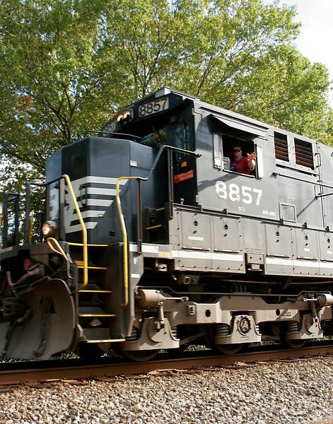 Norfolk Southern C-40-9 8857 - Duluth, GA