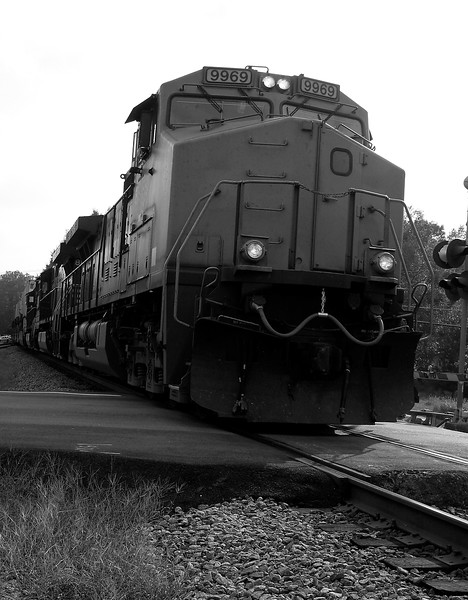 Norfolk Southern C40-9W 9969 - Norcross Station