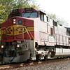 Santa Fe GE C44-9W (Dash 9-44CW) 621 - pulling a Norfolk Southern - Duluth, GA