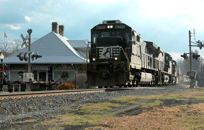 Norcross Station and Norfolk Southern Railroad