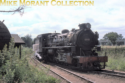 EAR: East African Railways and Harbours Locomotive class: 29 (Tribal) Wheel arrangement: 2-8-2 Engine no. and name: 2903 Bunyore Builder: NBL - North British Locomotive Co. Location: Nairobi Date: 8/77