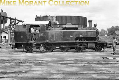 EAR: East African Railways and Harbours Locomotive class: ED1 Wheel arrangement: 2-6-2T Engine no.: 1110 Builder: Vulcan Foundry Location: Nairobi Date: 1969