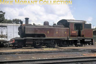 EAR: East African Railways and Harbours Locomotive class: ED1 Wheel arrangement: 2-6-2T Engine no.: 1130 Builder: Vulcan Foundry Location: Kampala, Uganda Date: 23/12/70