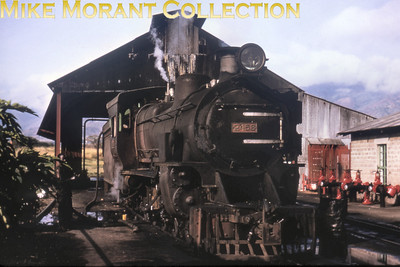 EAR: East African Railways and Harbours Locomotive class: EB3 Wheel arrangement: 4-8-0 Engine no.: 2458 Builder: Vulcan Foundry Location: Nairobi (not so sure about that) Date: 8/77