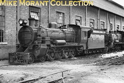 EAR: East African Railways and Harbours Locomotive class: EB3 Wheel arrangement: 4-8-0 Engine no.: 2401 Builder: Vulcan Foundry Location: Nairobi Date: 1969 Now preserved at the Nairobi Railway Museum. Sister loco 2409 was restored to operating condition in 2006.