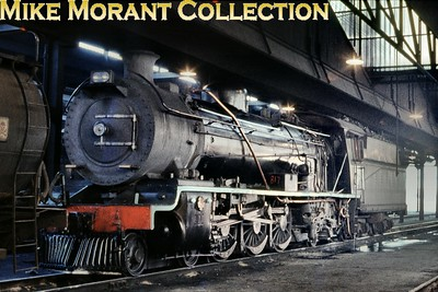 South African Railways 16C class 4-6-2 No. 817 (NBL 21713/1919) c. 1968. [Mike Morant collection]