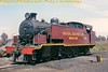 """South African industrial steam railways<br> S.A. Coal Estates (Navigation Section) 4-8-2T locomotive No. 2 at Clewer (Witbank district, Transvaal) in 1979. A """"standard"""" North British Locomotive Company industrial tank, it had been supplied to Daggafontein Mines (near Springs) [as its No.5] [under Hyde Park (Glasgow) works number 24599/1940] but was transferred to Witbank in the early 1970s.<br> [A.E. """"Dusty"""" Durrant / <i>Mike Morant collection</i>]"""