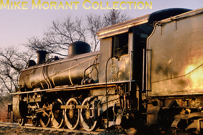 Zambia Steam railways 12th class 4-8-2 no. 204 circa 1995. [Photographer not known/Mike Morant collection]