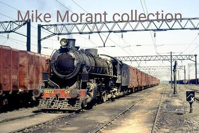 Eastern Railway CWD class mikado no. 12372 at Naihati on 12/12/80. [Mke Morant collection]