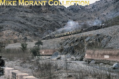 Pakistan Railways steam locomotive.