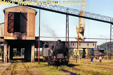 Bosnia-Herzegovina Railways 0-6-0T No. 19.12 at Durdevik - 27th August 1998. [Basil Roberts / Mike Morant collection]