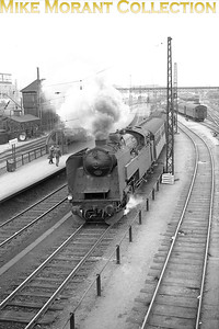 DSB  - Danish State Railways - 'S' class 2-6-4T no. 723 is depicted in charge of a local passenger service at Dybbølsbro on 9/9/63. 723 was built by Frichs and entered service on 4/4/28.  [Gerald T. Robinson / Mke Morant collection]