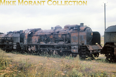 I'm not sure about the background for this loco but here we go: former PLM pacific no. 231 D 92 in a sorry state whilst stored at dépôt Nevers on 6/9/62.