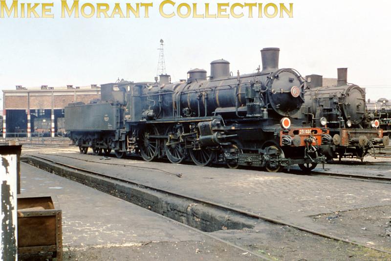 SNCF ex-Nord du Bousquet designed 4-cylinder compund 4-6-0 no. 230 D 34 at dépôt Boulogne on 10/6/62.