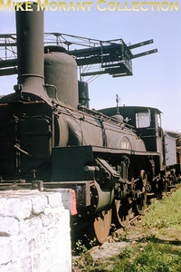 SNCF 2-4-0 no. 120 A 54 at dépôt Batignolles on 12/5/63.