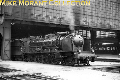 AL (Chemins de fer d'Alsace et de Lorraine) pacific no. 1345, depicted here at Gare de Metz in 1938, would soon become 231.B.345 under SNCF ownership. A viewer has informed me that the locomotive is pointing northwards.