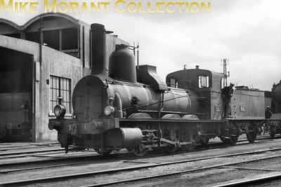 Pre-SNCF steam locomotive  -  locomotive à vapeur pré-SNCF