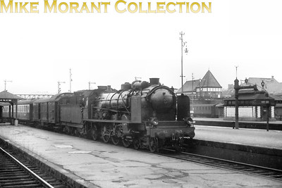 AL (Chemins de fer d'Alsace et de Lorraine) pacific no. 1345, depicted here entering Gare de Metz from the south in 1938, would soon become 231.B.345 under SNCF ownership.