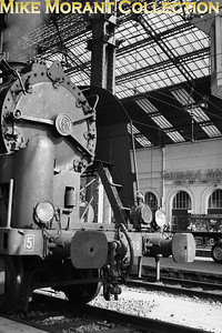 SNCF 2-8-2 no. 141 R 1209 with Region 5 painted on the buffer beam shown here at gare de Lyon Perrache. [Mke Morant collection]