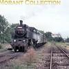 Československo Statni Drahy- CSD -Czechoslovakian State Railways 433 class 2-8-2T no. 029 at Nesamyslice on 4/9/74.<br> [<i>Mike Morant collection</i>]