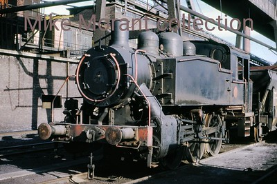 Dutch industrial railways locomotive. Oranje Nassau Mijnen (Heerlen) USATC 0-6-0T no. 27, built by Davenport (2513/1943), is depicted here at the colliery in 1970. [Mike Morant collection]