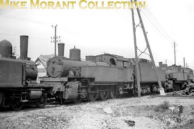 SNCF 0-8-0T no. 040 TF 7 at dépôt de Calais. [Mike Morant collection]
