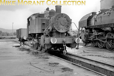 Known in Britain as a USA tank, this is an unidentified 030 TU class 0-6-0T. [Mke Morant collection]