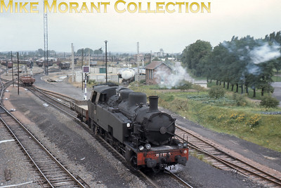 SNCF 0-10-0T no. 050 TQ 5 'hump shunting' at Laon on 13/9/66.
