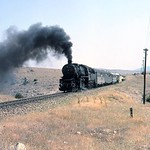 Turkish steam��- TCDD -�� July 1977. 56501 'Kriegslok' 2-10-0 no. 56548 was built by Flor in 1944 with works no. 16882. Location not stated. [Mike Morant collection]