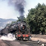 Turkish steam��- TCDD -�� July 1977. 56301 class 2-10-0 no. 56359 was built by VIW (Vulcan Iron Works, Wilkes Barre) in 1949 with works no. 4874. Location not stated. [Mike Morant collec ...