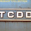 Turkish steam  - TCDD -   July 1977.<br> TCDD brass plate.<br> [<i>Mike Morant collection</i>]