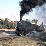 Turkish steam��- TCDD -�� July 1977. 45001 class 2-8-0 no. 45041 was built by Nohab in 1934 with works no. 1930. Location not stated. [Mike Morant collection]