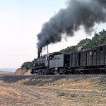 Turkish steam��- TCDD -�� July 1977. An unidentified 55001 class 0-10-0. Location not stated. [Mike Morant collection]
