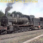 Turkish steam��- TCDD -�� July 1977. 55001 class 0-10-0 no. 55019 was an ex-KPEV (Prussian) G10 class but I have no further data available for this loco. Location not stated. [Mike Moran ...