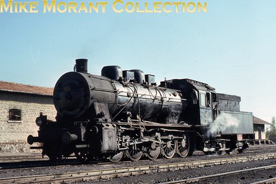 Turkish State Railways [Türkiye Cumhuriyeti Devlet Demiryollari] BMAG built 0-10-0 no. 55044 at Konya in 1975. [Mike Morant collection]