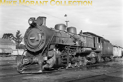 FCN General Belgrano (Argentina) metre-gauge 4-8-2 locomotive No. 1355 - March 1977. [A. E. 'Dusty' Durrant / Mike Morant collection]