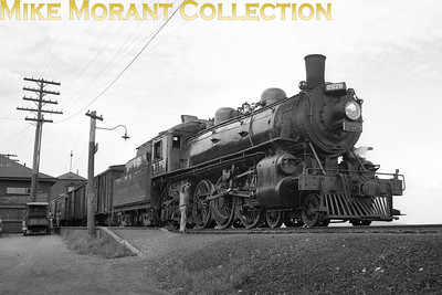 Canadian Pacific Railway Company Class G2 4-6-2 No 2579 at Greenville, Maine. [Mke Morant collection]