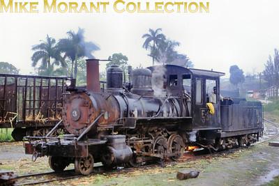 "Mill: 105 Augusto César Sandino Engine no.: 3 (1210) Wheels: 2-6-0 Gauge: 36"" Builder: Baldwin 42216/1915 Photo date: 17/3/93 Photograph: Basil Roberts / Mike Morant collection"