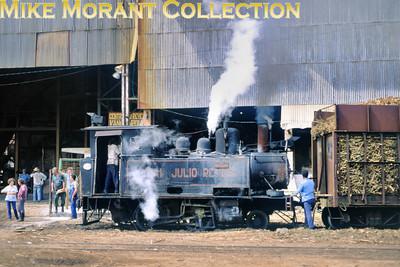 Mill: 321 Julio Reyes Cairo Engine no.: 1124 Wheels: 0-4-0T Gauge: standard Builder: Henschel 12445/1913 Photo date: 21/3/93 Photograph: Basil Roberts / Mike Morant collection
