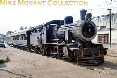FCPCAL  - Ferrocaril Presidente Carlos Antonio Lopez Paraguayan steam locomotive 2-8-0 no. 54  - NBL 19670/1912. [ Mike Morant collection]