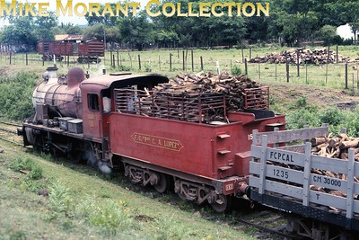 FCPCAL  - Ferrocaril Presidente Carlos Antonio Lopez Paraguayan steam locomotive 2-6-0 no. 152 -   Yorkshire Engine Co. (Sheffield) 2514/1953. [Mike Morant collection]