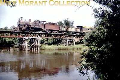 FCPCAL  - Ferrocaril Presidente Carlos Antonio Lopez Paraguayan steam locomotive 2-6-0 no. 521  - NBL 19137/1911. [ Mike Morant collection]