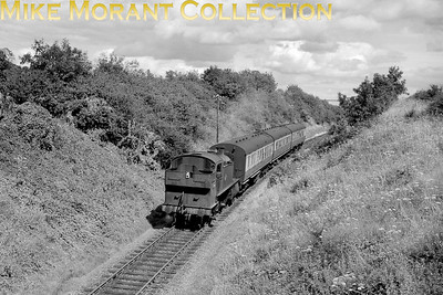 Other than the fact that this is a GWR 2-6-2T, I have no information at all for this image. [Mike Morant collection]