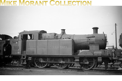 Ex-Taff Vale Railway 0-6-2T no. 357. Date and location not stated. [Mike Morant collection]